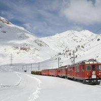 Bernina Railway  famous railway line
