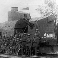 Polish armoured train Smialy  famous trains