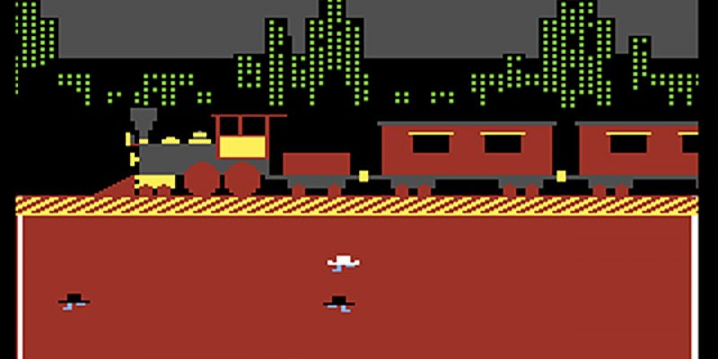 Agent USA  1984 train game