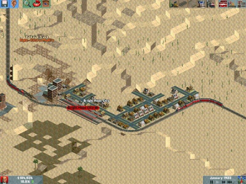 Chris Sawyer's Locomotion  2004 train game