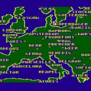 Globetrotter 1984 trains game