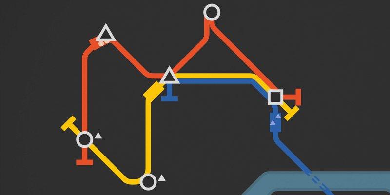 Mini Metro  2015 train game