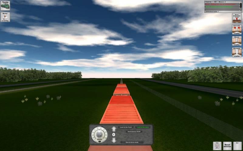 Rail Cargo Simulator  2010 train game