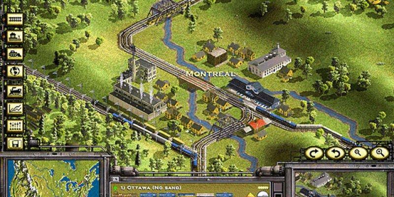Railroad Tycoon II  1998 train game