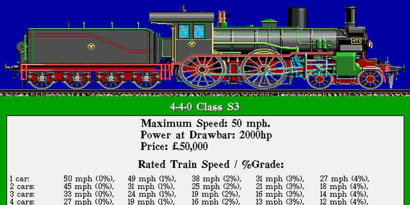 Railroad Tycoon Sid Meier's Railroad Tycoon 1990 train game