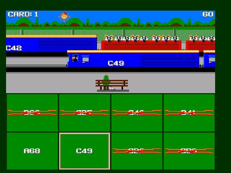 Sensible Train Spotting  1995 train game