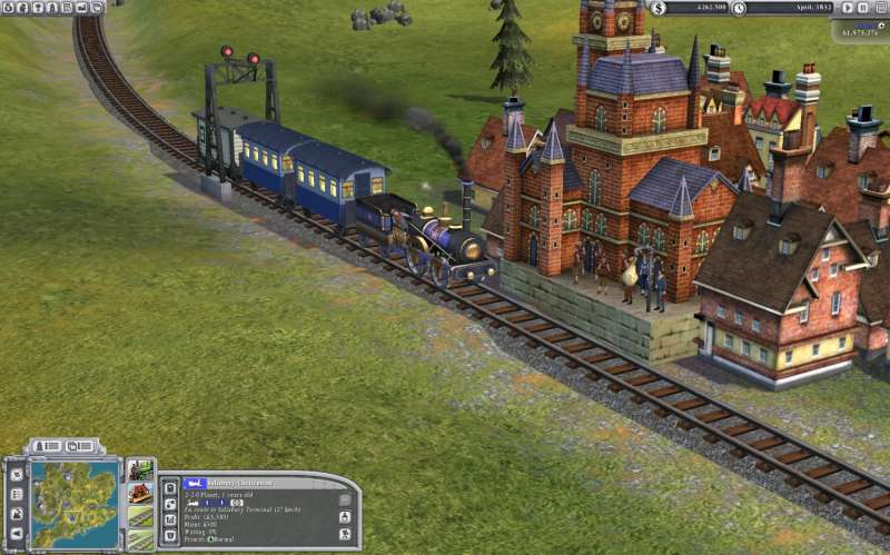 Sid Meier's Railroads!  2006 train game