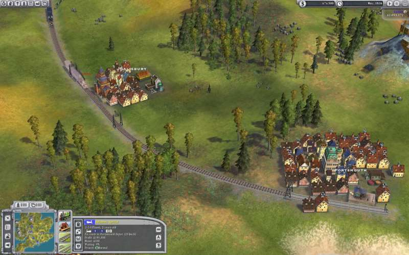 Sid Meier's Railroads!  2006 train game