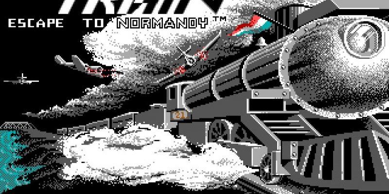 The Train: Escape to Normandy  1987 train game