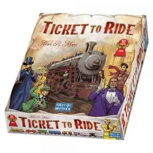 Ticket to Ride 2004 trains game