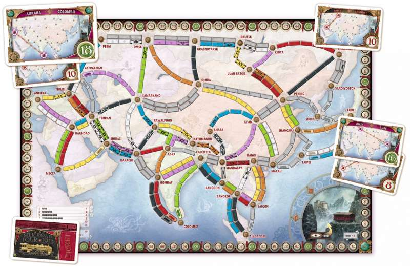 Ticket to Ride  2004 train game