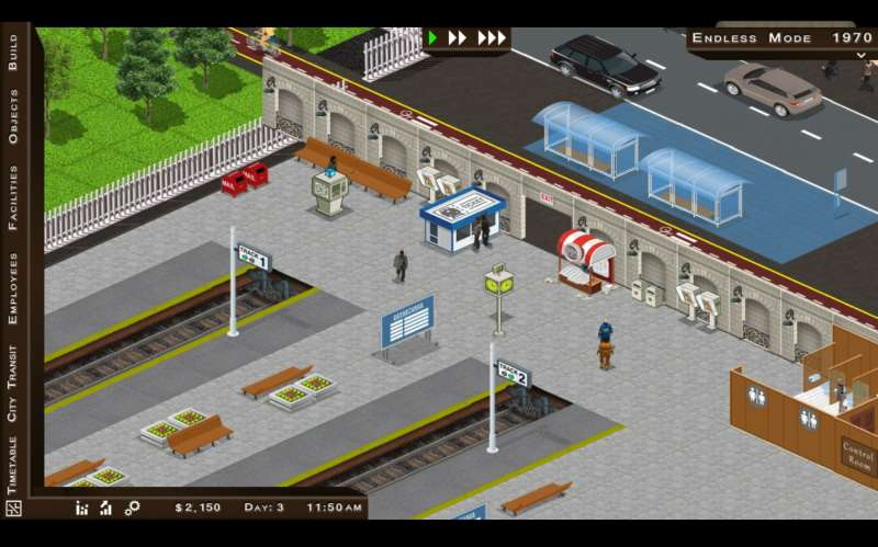 Train Station Simulator  2017 train game