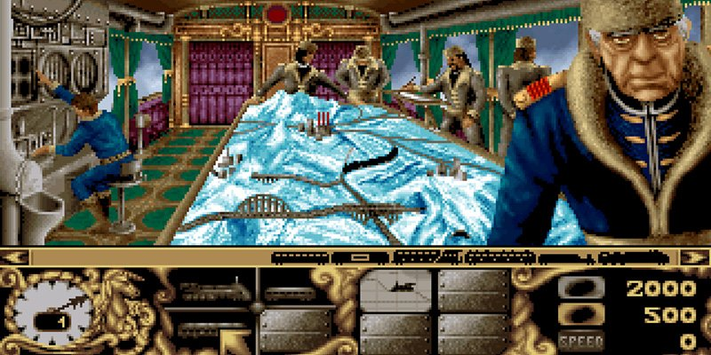 Transarctica  1993 train game