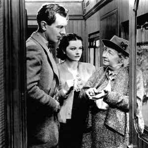 The Lady Vanishes  1938 train movie