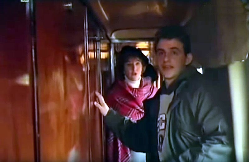 The Secret of Coach 13 La Treizième Voiture 1993 train movie
