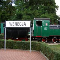 Narrow-Gauge Railway Museum in Wenecja  train museum