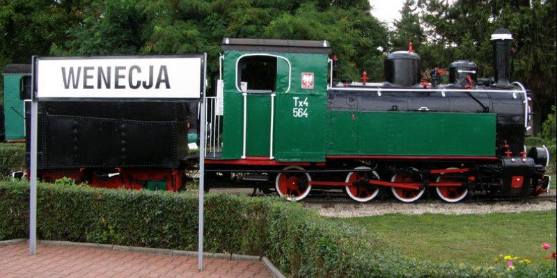 Narrow-Gauge Railway Museum in Wenecja