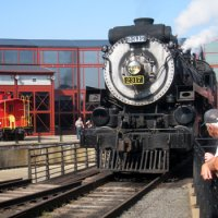 Steamtown National Historic Site  train museum