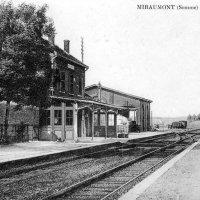 Miraumont train station  train station
