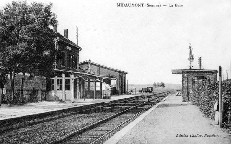 Miraumont train station