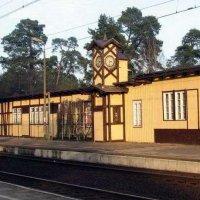 Train stations in Puszczykowo and Puszczykowek  train station