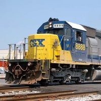 CSX 8888 incident  trains story