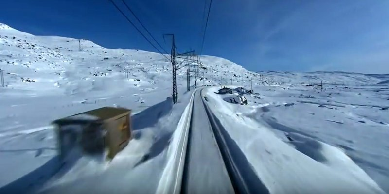 Oslo - Bergen railway video