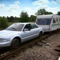 Top Gear crew builds a train, part 1 train videos