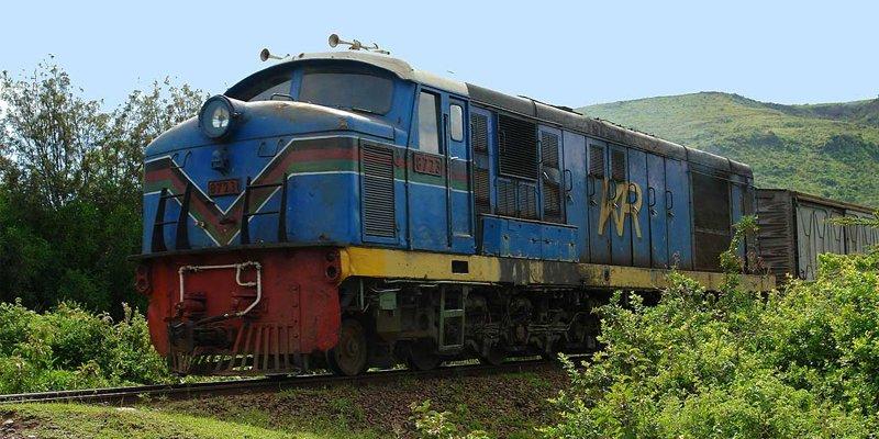 Trains in Kenya